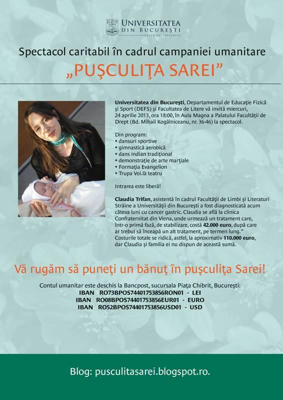 afis_spectacol_caritabil_pusculita_sarei