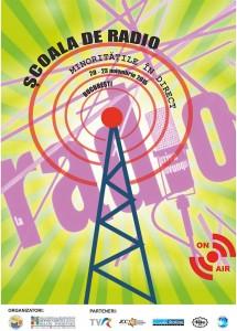 Afis - Scoala de radio