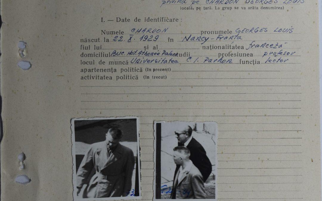 Seminarul de cercetare – 27.05.2021 – Lectorii francezi la Universitatea din București în anii 1960. Diplomație culturală și învățământ superior filologic sub supravegherea Securității